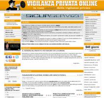 Vigilanza Privata Online Portale