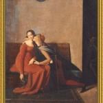 Paolo e Francesca - dipinto di jean auguste dominique ingres